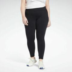 Zwarte Reebok Lux Legging (Plus Size)