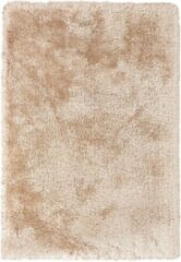 Zandkleurige Cosy Shaggy Superzacht Vloerkleed Sand / Champagne Hoogpolig - 80x150 CM