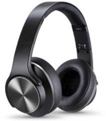 Zwarte Sodo On-Ear Bluetooth Koptelefoon Draadloos - Headset en Speaker in 1 - Black