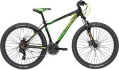 27,5 Zoll Herren Mountainbike 21 Gang Adriatica... schwarz-gelb, 48cm