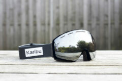 Zwarte Karibu + Gratis 2e Lens Goggle