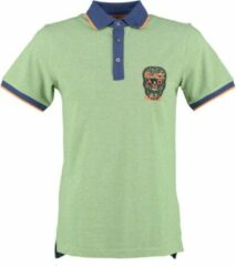 Black and gold groene polo - Maat S