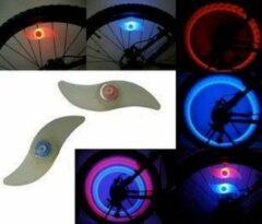 Wantohave LED Fietswiel Verlichting Set - 2 stuks - RGB (wisselende kleuren)