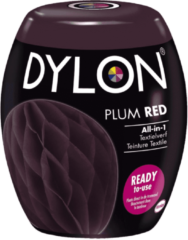 Dylon Wasmachine Textielverf Pods - Plum Red 350g