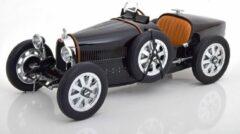 Zwarte Bugatti T35 1925 - 1:12 - Norev