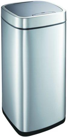 Afbeelding van Roestvrijstalen EKO Perfect Sensor prullenbak - 35 l - Mat - RVS