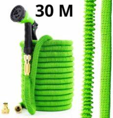 Merkloos / Sans marque Geeek XXL Magic Hose Elastische Flexibele Tuinslang 30 meter