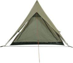 10-T Outdoor Equipment 10T Poneto 2 - 2-Personen Trekking Doppeldach First-Zelt mit Schlafkabine 2700g leicht WS=5000mm