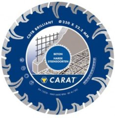 Carat Diamantzaagblad - Beton 125 mm