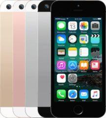 Grijze Apple Refurbished IPhone SE | 16 GB | Goud | Als nieuw | 2 jaar garantie | Refurbished Certificaat | leapp