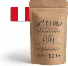 Café du Jour 100% arabica Peru 500 gram vers gebrande koffiebonen