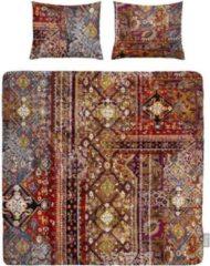 Bruine Iseng Persia - Dekbedovertrek - Tweepersoons - 200x200/220 cm + 2 kussenslopen 60x70 cm - Brown