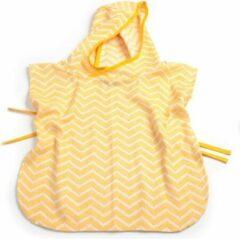 Gele KipKep Blenker Poncho - maat S (1-3 jaar) - Indian Wig/Yellow - hydrofiel katoen