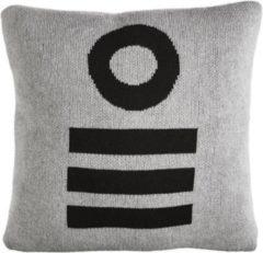 Grijze Oilily OLY Melange Cushion Grey 040X040