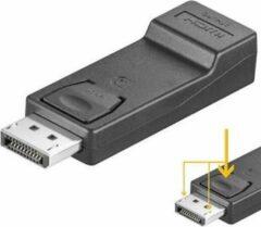 Zwarte Goobay DisplayPort naar HDMI adapter