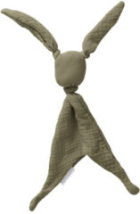 Cottonbaby Cottonsoft Knuffeldoek - kakigroen