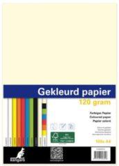 Papier Kangaro A4 120gr pak a 100 vel (10x10) assorti