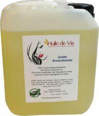 Huile de Vie Amandelolie puur massageolie, 100% zuiver 5 Liter. zoete amandel olie koud geperst