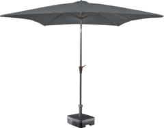Grijze Kopu® vierkante parasol Altea 230x230 cm - Grey