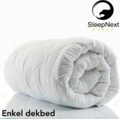 Witte SleepNext HQ ***** SleepNext HQ - Enkel dekbed -140x200cm - All Year
