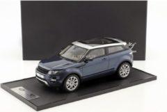 Blauwe Landrover Land Rover Range Rover Evoque 2011 - 1:18 - Century Dragon