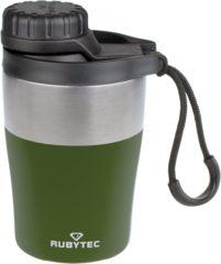 Groene RUBYTEC Shira Hotshot - Iso Koffiebeker / Theebeker - 200 ml - Olijf (Olive)