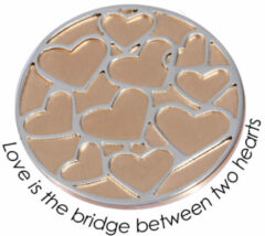 Quoins QMOD-L-07-R Munt Love is the bridge between two heart Large