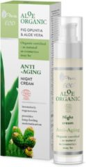 AVA Cosmetics Aloe Organic Anti-Aging Night Cream 50ml.