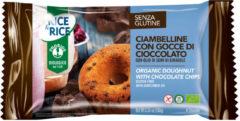 PROBIOS Srl Rice&Rice Ciambelline Con Gocce Di Cioccolato Senza Glutine 180g (4X45g)