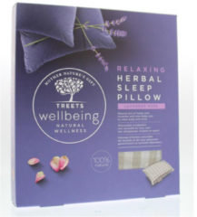 Treets Wellness Herbal Sleep Pillow Relaxing