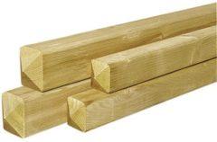 Woodvision Tuinhout paal ME vuren | 67 x 67 | Geschaafd 300 cm