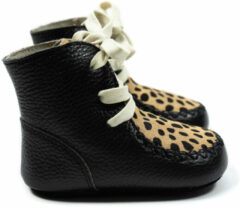 Mockies High Boots Speckle Black Mt. S
