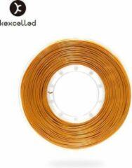 Kexcelled PLA Silk Gold/goud - ±0.03 mm - 1 kg - 1.75 mm - 3D printer filament