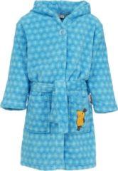 Playshoes - Kid's Fleece-Bademantel maat 110/116, purper/zwart/rood/blauw/blauw/blauw/olijfgroen/zwart/zwart/grijs