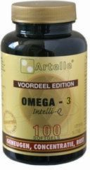 Artelle Omega 3 Intelli-Q Softgel 100 st *