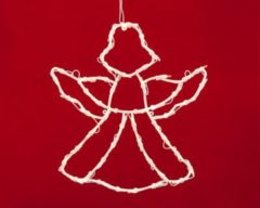 Merxx 49er Weihnachtssilhouette, Engel, innen