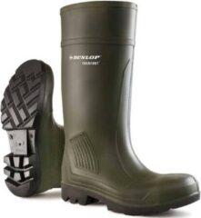 Groene Merkloos / Sans marque Dunlop Purofort Professional Full Safety Werklaarzen (S5)