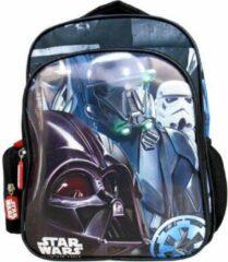 Zwarte Star Wars rugzak 31 cm met 2 vakken