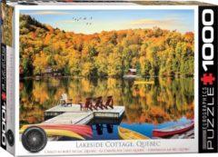 Eurographics puzzel Lakeside Cottage Quebec - - 1000 stukjes