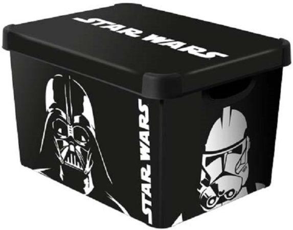 Afbeelding van Curver Star Wars - Opbergbox - Large - 51x30xh23 - (set van 3) En Yourkitchen E-kookboek - Heerlijke Smulrecepten