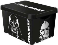Curver Star Wars - Opbergbox - Large - 51x30xh23 - (set van 3) En Yourkitchen E-kookboek - Heerlijke Smulrecepten