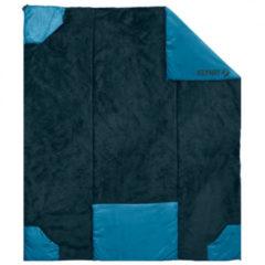 Klymit - Versa Luxe Blanket - Dekenmodel maat 203 x 147 x 0,8 cm, zwart/blauw