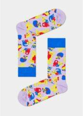 Rode Happy Socks Exotic Cat socks