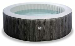 EXIT Wood Deluxe spa donkergrijs Ø204x65cm