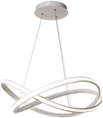 Collectione Hanglamp Eleganza 58 cm 35 lichts LED groot wit