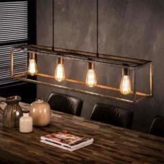 Antraciet-grijze Easy Furn Hanglamp Nox - 4 Lichts