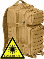 Brandit Backpack - Rugzak - LASERCUT Mollie system - medium camel