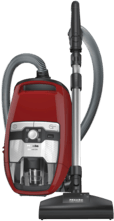 Rode Miele Blizzard CX1 Cat & Dog PowerLine - Stofzuiger zonder zak - Herfstrood