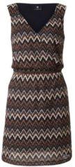 SIENNA Kleid, mit Zickzack Muster, Modisch, Kunstfaser