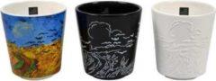 Blauwe Royal Goedewaagen - Van Gogh Mokken 'Korenveld met Kraaien' - 3 stuks